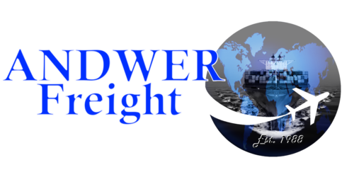 Andwer Freight-Clearing & Forwarding Solutions Freight & Forwarding Since 1988